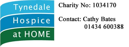 Tynedale Hospice at Home Logo and Contact Details